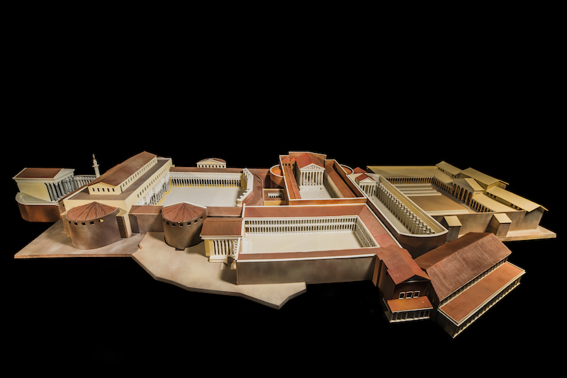 3d model of Imperial Forums of Rome