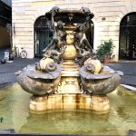 Turtle fountain in Rome