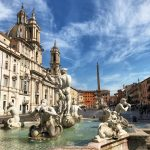 Piazza Navona and Fountain of Four RIvers