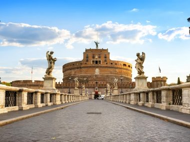 Bridge infront of Castel Sant Angelo