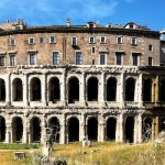 Teatro Marcello nearby the jewish district of Rome