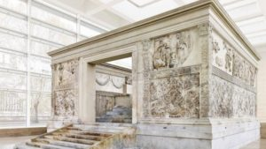Ara Pacis - Altar of Peace in Rome