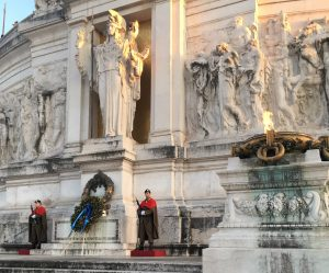 Vittoriano, altar of the Fatherland and the monument of unknown soldier