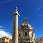 Traian column in Rome