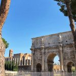 Arch of Constantine near Colosseum in Rome