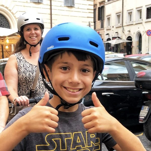 Segway tour in Rome for kids from 12 years